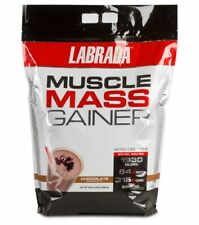 LABRADA MUSCLE MASS GAINER 12LB DISCOUNTED LOW PRICE WEIGHT GAINER 84GMS PROTEIN