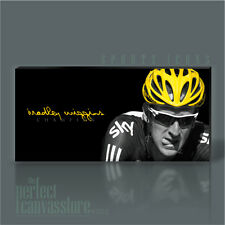 BRADLEY WIGGINS TOUR DE FRANCE CHAMP GIANT ICONIC CANVAS ART PRINT Art Williams
