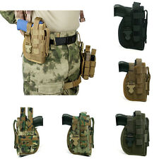 Military Tactical Molle Right Hand Waist Belt Holster for Hunting Pistol