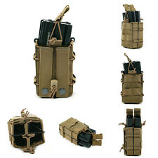 Military Tactical Molle Magazine Double Pouches Cartridge Clip Holster Bags