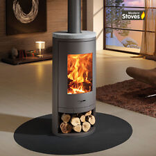 Sydney 13kw Curved Contemporary Wood Burning Stove