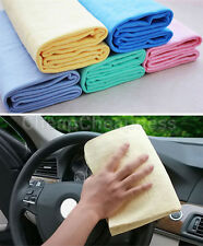 1/5 pcs Wipes Magic Chamois Leather Absorbent Cars Washing Cloth  Clean Towels