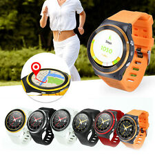 GSM 3G Quad Core Smart Watch 5.0MP Camera GPS WiFi BT4.0 Pedometer Heart Rate