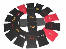 901-SUP Dodge Superbee Black Red Loop Floor Mats With Embroidered Logo
