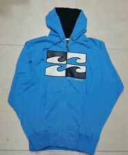 Billabong Mens Full Zip Hoodie Fleece Hooded Sweatshirt Jacket Jumper Size M L