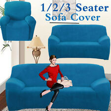 Super Fit Easy Stretch Protector Sofa Chair Couch Cover Slipcover 1 2 3 Seater