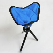 Garden Seat Portable Foldable Folding Stool Camping Beach Fishing Chair Outdoor