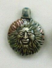 "Raku Sun Ceramic Pendants, 1 1/2"", Choice of Lot Size & Price"