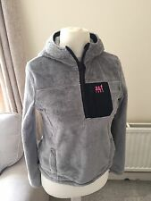 Girls Abercrombie And Fitch Zip Up Hoodie Jumper Size M  Super Soft Warm