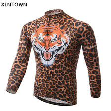 2016 Tiger Cycling Wear Bike Long Sleeve Jersey Riding Team Bicycle Clothing Men