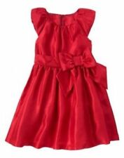New Gymboree Christmas Dress Party Plaid Red Shimmer Bow Size 5 Girls
