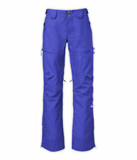 $399 NEW Womens NORTH FACE Fuse Form Brigandine Ski Pants Tech Blue Steep RECCO