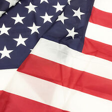 4' X 6' U.S./USA American Flag Nylon Polyester Solid Brass Grommets 4x6