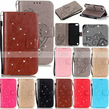 -YPYB Rhinestone Wallet Case Cover For Apple iphone 7 Plus 6 6S Plus 5S 5C 4S 4G