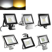 10W 20W 30W 50W 100W LED Flood Light Garden Spot Landscape Lamp w/ PIR Sensor