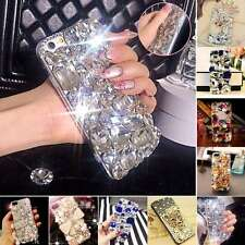 Hot ! Handmade Bling Diamond Rhinestone Crystal Case For Apple iPhone & Samsung
