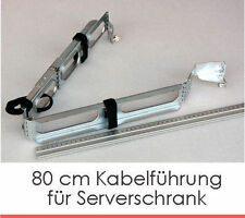 SERVER KABELFÜHRUNG 80cm FOR SERVER SERVERSCHRANK STABIL FLEXIBLE CABLECHANNEL C