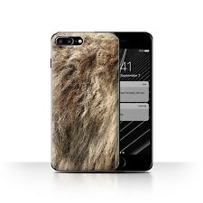 STUFF4 Case/Cover for Apple iPhone 7 Plus/Animal Fur Effect/Pattern/Wolf