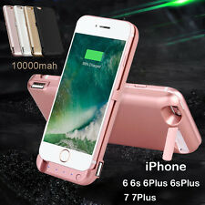 10000mAh Battery Charger Power Bank Pack Backup Case For iPhone 6S Plus 7 7Plus