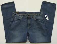 Mens GAP 1969 PREMIUM STRAIGHT RUSTIC WASH JEANS Sizes 30-38 - NWT Retail - $68