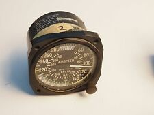 True Airspeed Indicator 40- 240 Knots/40-280 MPH FOR PARTS