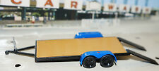 LIMITED ed. flatbed car hauler truck trailer w/ramps 1/64 SCALE DCP GREENLIGHT