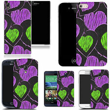 motif case cover for various Popular Mobile phones - precious heart