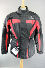OXFORD SPARTAN WATERPROOF TEXTILE BIKER JACKET + CE ARMOUR/THERMAL LINING: L-3XL