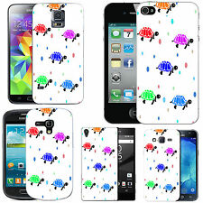 motif case cover for various Mobile phones -  pastel turtle droplet