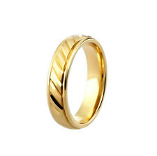 BRAND NEW 9CT YELLOW GOLD  COURT PATTERNED WEDDING RING ANY SIZE DC126