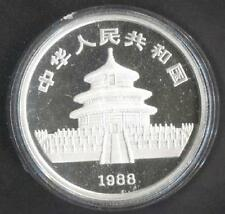 China 1 OZ 10 Yuan 1988 Dragon Silver Proof Coin with Certificate (OC298)