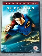 SUPERMAN RETURNS 2 disc special edition DVD widescreen REGION 2 sealed NEW