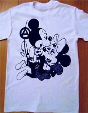 Seditionaries MICKEY MINNIE MOUSE Sex Pistols Anarchy Punk ADULT Tee