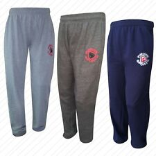 New Prime Mens Fleece Jogging Trousers Tracksuit Bottoms Fitness Exercise Pants