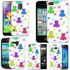 motif case cover for various Mobile phones - multi frog love