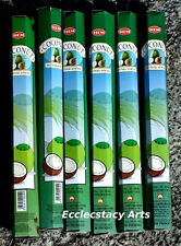 Hem Coconut Incense 20-40-60-80-100-120 Sticks You Pick Amount {:-)