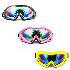New Mutil Color Ski Goggle Snowmobile Bicycle Motorcycle Eyewear Protective Lens
