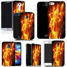 pictoral case cover for most Popular Mobile phones - fire flower
