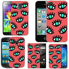 gel case cover for many mobiles -blush falling eyelash silicone