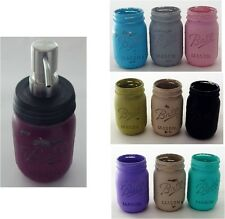 Distressed Mason Jar Dispenser ~ Soap or Lotion Pump Dispenser ~ Pint Size New