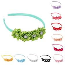 Sweet Kids Girl Baby Headband Toddler Bow Flower Hair Band Accessories Headwear