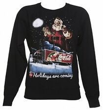 Official Women's Coca-Cola Holidays Are Coming Lightweight Christmas Jumper