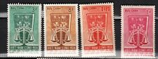 1963 Vietnam Stamps - Human Rights- Sc# 223-226 - MNH/MH set of 4