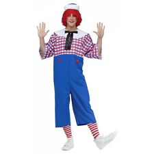 Raggedy Andy Costume Halloween Fancy Dress