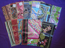 "NWT Vera Bradley 100% SILK SCARF CHOICE OF RETIRED PATTERNS 27 "" CAPRI BOTANICA"