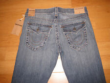 NWT Men's True Religion Ricky Relaxed Straight Jeans (Retail $198.00)