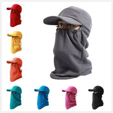 Unisex Warm Balaclava Windproof Hat Ski Face Mask Fleece Hood Sports Mask Cap