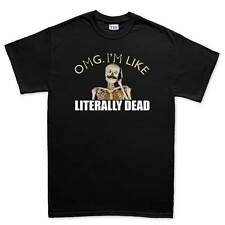 OMG I'm Dead Funny Halloween Costume Skeleton Mens T shirt Tee Top T-shirt