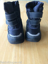 Rugged Bear RB72162 Boys Snow Boots Navy Toddler SZ 6 NWT