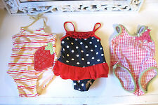 Baby Girl bathing Suit 6 9 12 months Baby Gap Old Navy Carters Pink Dots Tutu